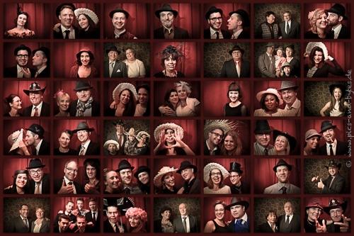 Gäste-Collage